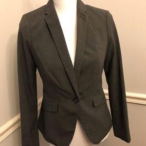 Dark Grey The Limited Suit Jacket Blazer size 0